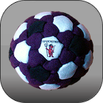 BLACK LOTUS Footbag